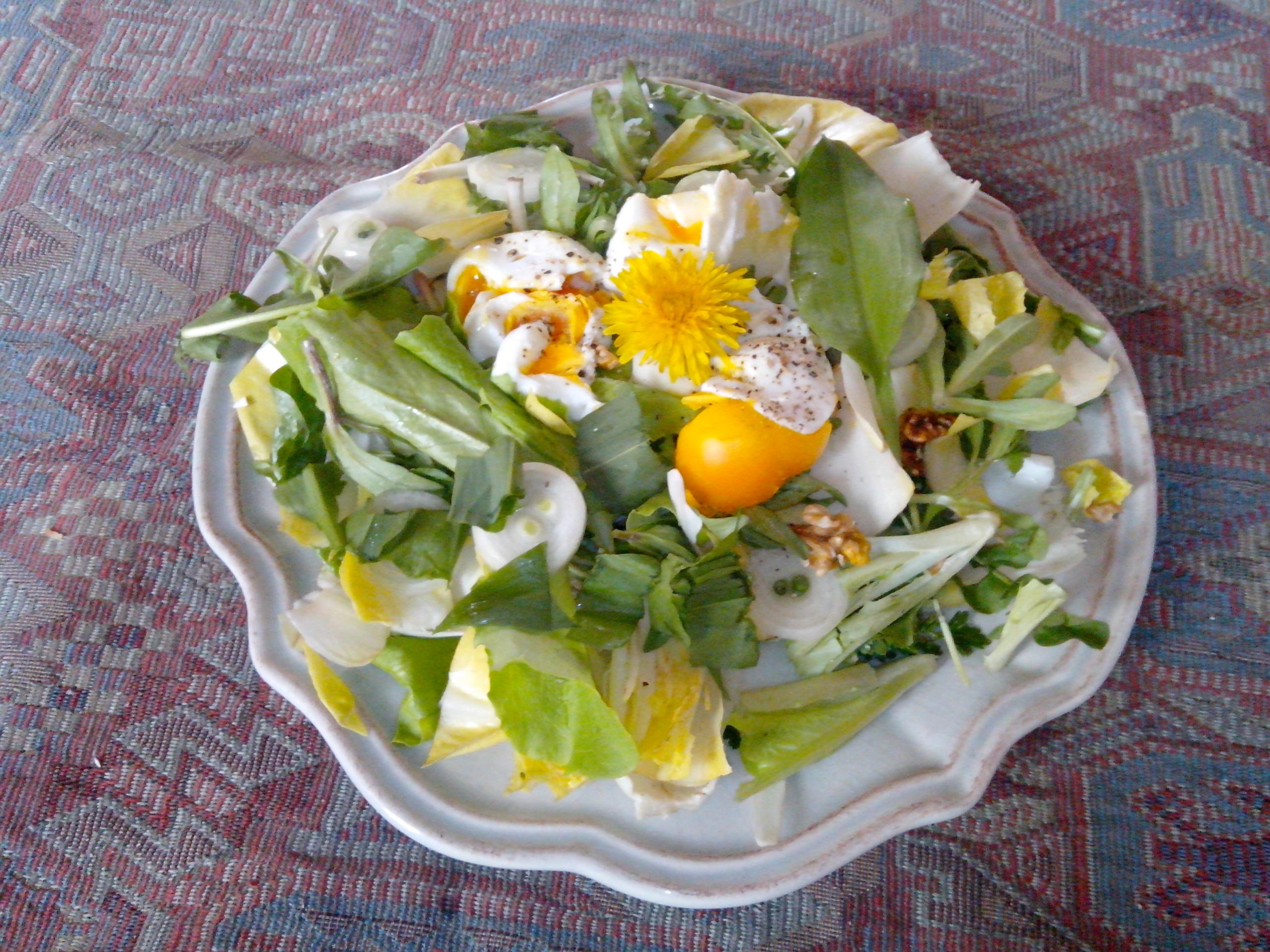 salade d'avril
