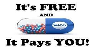Webtalk le premier réseau social qui vous paye